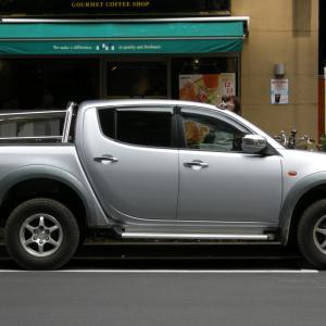 Mitsubishi Triton 2005- タイ製の三菱 トライトン