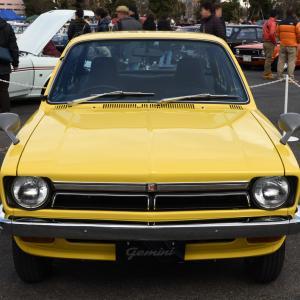 Isuzu Gemini 1974- 1974年に登場したいすゞ ジェミニ