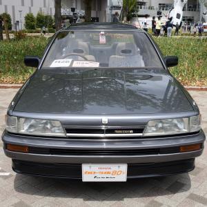 Toyota Camry 1986- 6ライトを踏襲した3代目のトヨタ カムリ