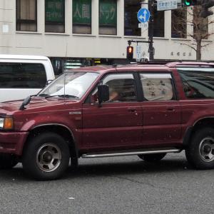 Mazda Proceed Marvie 1991- 3列シート、7人乗りのマツダ プロシード マービー