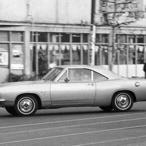1968年型のプリマス バラクーダ