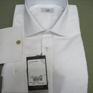 百貨店商品Yシャツ(ダンヒル製)口紅しみ しみ抜き 綿素材