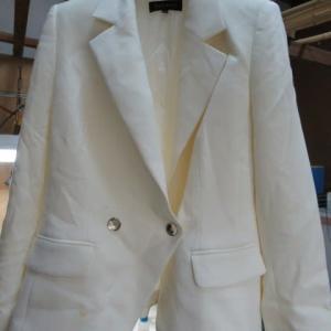 ジャケット 食べこぼししみ クリーニング・しみ抜き ウール・ポリウレタン素材
