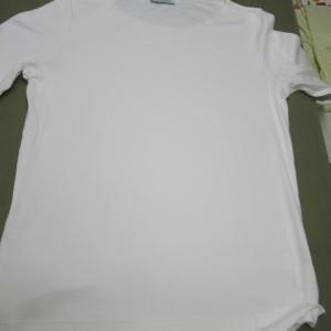 Tシャツ 食べこぼししみ クリーニング・しみ抜き 綿・ポリウレタン素材