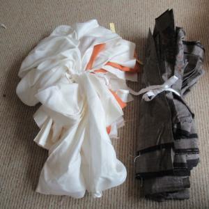 大島袷解き済み 湯通ししていない大島 洗い張り 正絹素材