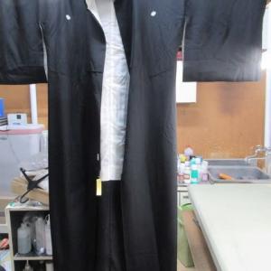喪服袷・長襦袢 丸洗い 正絹素材