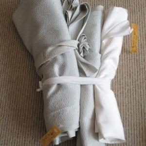 色留袖袷(解き済み)洗い張り 正絹素材