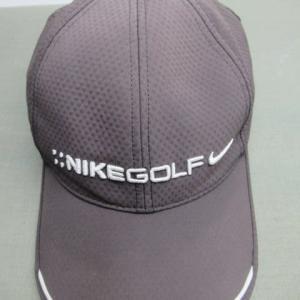 黒地キャップ帽(ナイキ製)脱色 水洗い・色掛け(染色補正)