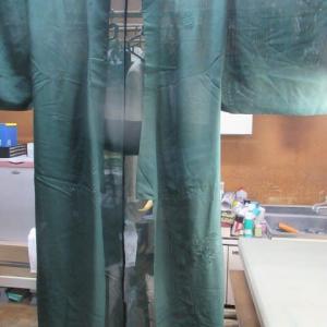 絽2枚 丸洗い 正絹素材
