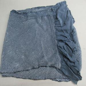 総絞り兵児帯 手のし(巾出し) 正絹素材