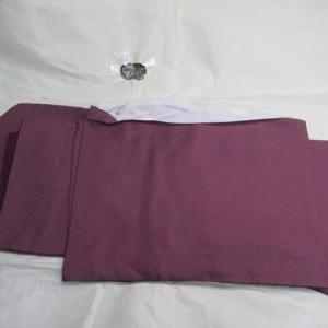 鮫小紋袷 裄出しに伴う筋消し 正絹素材