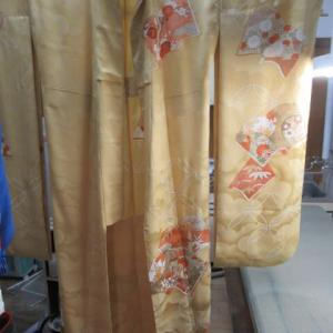 振袖新反 胴裏抜き仕立て 正絹素材