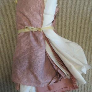 紬袷(解き済み)洗い張り 正絹素材