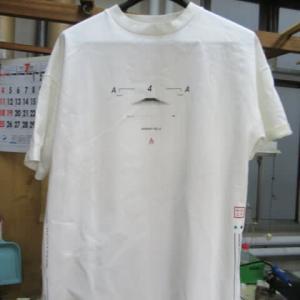 プリントTシャツ 衿汚れ・全体汚れ 全体漂白 綿素材