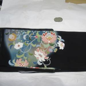 留袖比翼付き(仕立て上がり)長期保管の為のたたみしわ 仕上げ 正絹素材