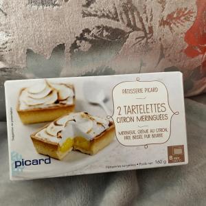 ピカール購入品!レモンクリームのメレンゲタルト