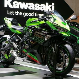 250ccの並列4気筒エンジンが復活!!「Ninja ZX-25R」