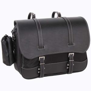 積載性の無さに困り、サイドバッグをポチっとな