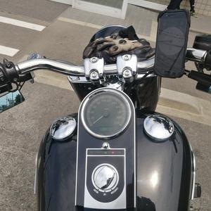 天気が良いからバイクのセッティングの続き