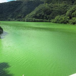 岡山県・新成羽川ダム 9月6日