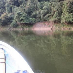 津久井湖・沼本ボート 9月28日(50上ゲット)