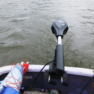 亀山湖・松下ボート 10月22日