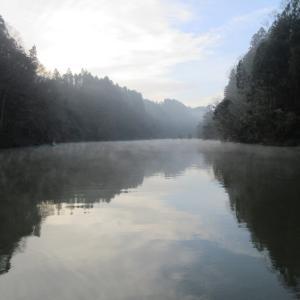 亀山湖・松下ボート 1月12日