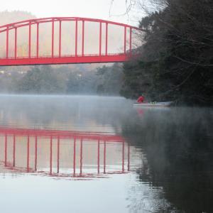 亀山湖・松下ボート 1月13日