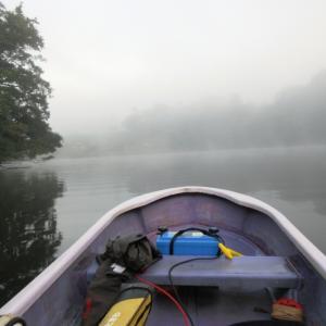 亀山湖・松下ボート 9月28日