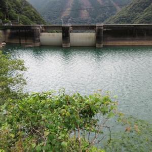 宮崎県・一ツ瀬ダム 8月31日