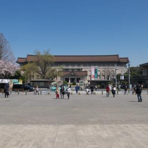 4月の上野公園:東京国立博物館正門前から国立西洋美術館前へ PART1