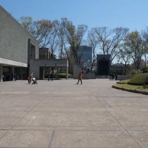 4月の上野公園:国立西洋美術館前からJR上野駅・3153前へ PART1