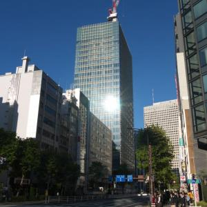 東京虎ノ門グローバルスクエアの進捗状況 2019年11月5日