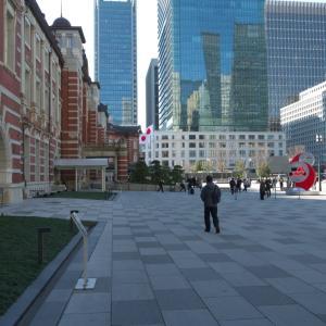 1月の東京駅:丸の内北口前から丸の内中央口・皇室専用貴賓出入口前へ PART1