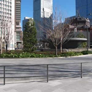 1月の東京駅:丸の内北口前から丸の内中央口・皇室専用貴賓出入口前へ PART2