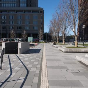 1月の東京駅:丸の内中央広場と丸の内中央口交差点の周辺 PART2