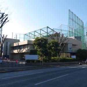 2月の神宮外苑:イチョウ並木道前を通り抜けて明治神宮球場・ゴルフ場前へ PART2