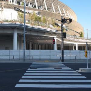 2月の神宮外苑:泉寿院交差点から外苑西通り・外苑橋道路橋梁真下へ PART2