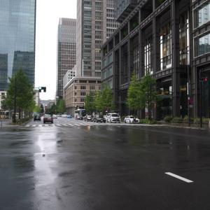 東京オリンピック開催期間中の東京駅周辺を散策する 2021年7月下旬 PART10
