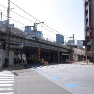 3月の神田一ツ橋:神田駅北口交差点から神田警察通り・司町交差点まで PART1