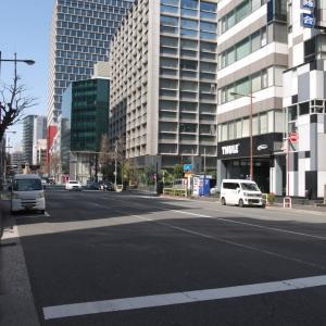 3月の神田一ツ橋:司町交差点から神田警察通り・美土代町交差点まで PART2