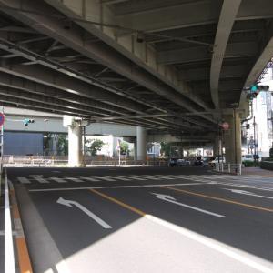 3月の神田一ツ橋:神田警察通り・一つ橋交差点から内堀通り・竹橋交差点まで PART2