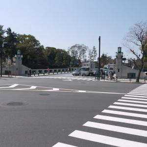 3月の神田一ツ橋:内堀通り・竹橋交差点から白山通り・一ツ橋河岸交差点へ PART1