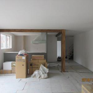 十勝 帯広 中古住宅+リノベーション リノベ不動産 いかすハウス 完成間近のフルリノベ住宅
