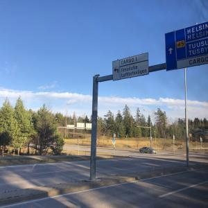 フィンランドに着きました。