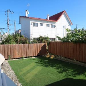 十勝 帯広 売買物件情報! 人工芝のあるお庭の中古住宅
