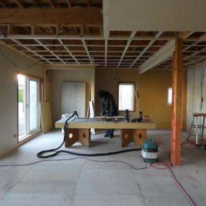 十勝 帯広 中古住宅+リノベーション リノベ不動産 いかすハウス 進行中の工事