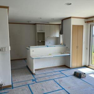 十勝 音更 中古住宅+リノベーション リノベ不動産 いかすハウス リフォーム工事開始しました。