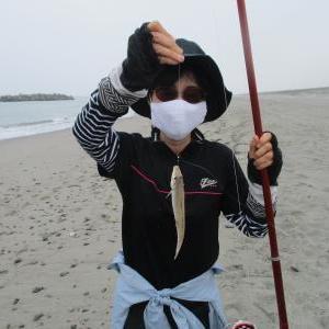 鱚釣りマダムの腕前はー?