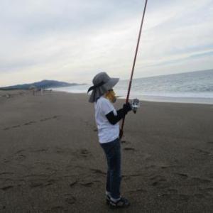 爆釣!鱚釣りマダム!
